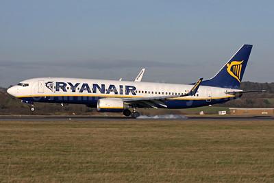 Ryanair Boeing 737-8AS WL EI-EBR (msn 37530) LTN (Antony J. Best). Image: 931662.