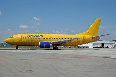 Ryanair Boeing 737-3Q8 G-BZZJ (msn 26321) (Buzz colors) FRL (Ton Jochems). Image: 952862.