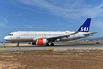 Scandinavian Airlines-SAS (Ireland) Airbus A320-251N WL EI-SID (msn 8031) PMI (Ton Jochems). Image: 948282.