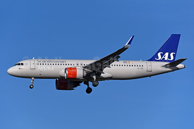 Scandinavian Airlines-SAS (Ireland) Airbus A320-251N WL EI-SIG (msn 8333) LHR (Rolf Wallner). Image: 944445.