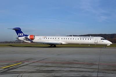 Scandinavian Airlines-SAS (CityJet) Bombardier CRJ900 (CL-600-2D24) EI-FPW (msn 15443) ZRH (Rolf Wallner). Image: 945318.