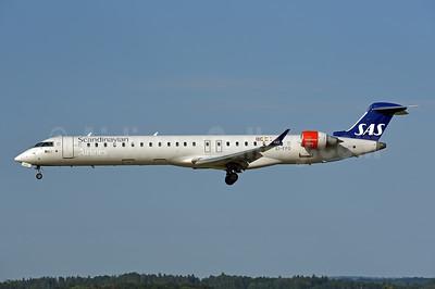 Scandinavian Airlines-SAS (CityJet) Bombardier CRJ900 (CL-600-2D24) EI-FPO (msn 15434) ZRH (Rolf Wallner). Image: 946869.