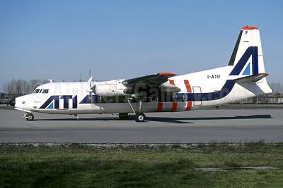 ATI (Aero Trasporti Italiani) Fokker F.27 Mk. 200 I-ATIF (msn 10321) LIN (Christian Volpati Collection). Image: 949891.