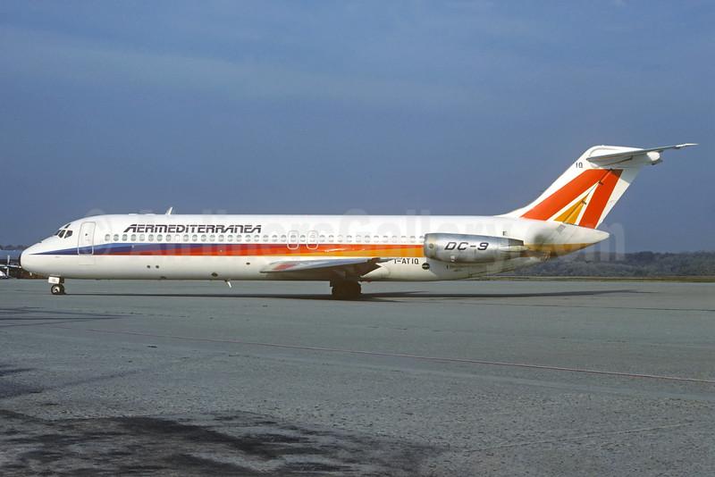 Aermediterranea McDonnell Douglas DC-9-32 I-ATIQ (msn 47591) LIN (Christian Volpati Collection). Image: 924783.