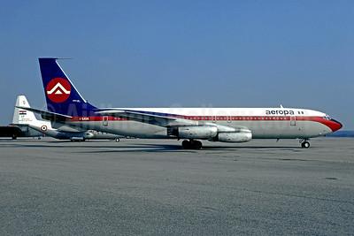 Aeropa (Italy) Boeing 707-131 I-SAVA (msn 17664) MXP (Christian Volpati Collection). Image: 950650.
