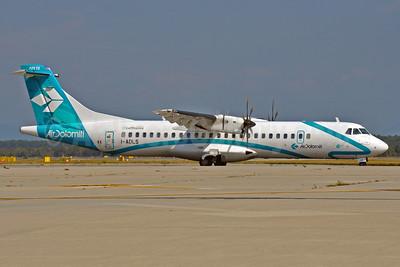 Air Dolomiti-Lufthansa ATR 72-212A (ATR 72-500) I-ADLS (msn 634) MXP (Richard Vandervord). Image: 903654.