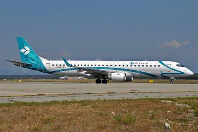 Air Dolomiti Embraer ERJ ERJ 190-200LR (ERJ 195) I-ADJK (msn 19000245) MXP (Richard Vandervord). Image: 903655.