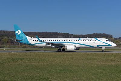 Air Dolomiti Embraer ERJ ERJ 190-200LR (ERJ 195) I-ADJU (msn 19000290) ZRH (Rolf Wallner). Image: 946154.