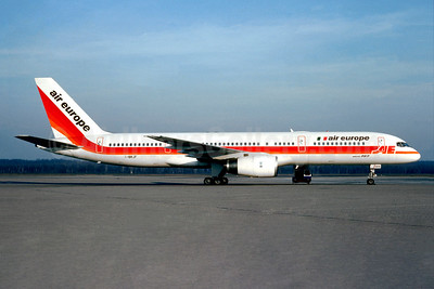 Air Europe (Italy) Boeing 757-236 I-BRJF (msn 24772) MXP (Christian Volpati Collection). Image: 945410.