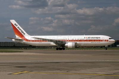 Air Europe (Italy) Boeing 767-352 ER EI-CLS (msn 26262) LHR (SPA). Image: 941441.