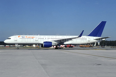 Air Europe (Italy) Boeing 757-2Q8 WL OH-LBT (msn 28170) (Finnair colors) LIN (Christian Volpati Collection). Image: 945411.