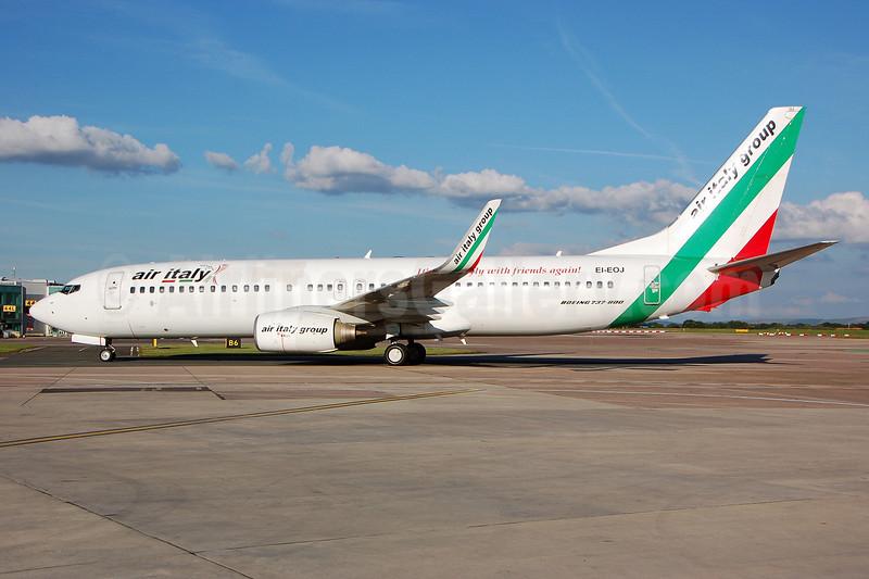Air Italy (2nd) Boeing 737-8BK WL EI-EOJ (msn 33022) MAN (Nik French). Image: 909516.