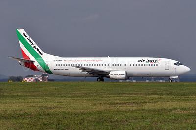 Air Italy (2nd) Boeing 737-430 D-AGMR (msn 27007) MXP (Richard Vandervord). Image: 935107.
