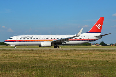 Air Italy in Meridiana livery