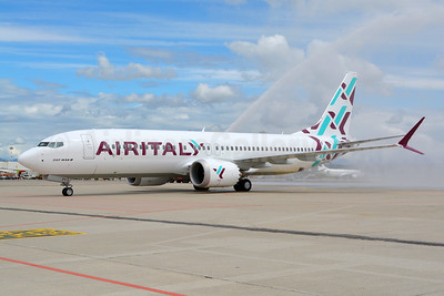 EI-GFY arrives at the Milan Malpensa base on May 14, 2018