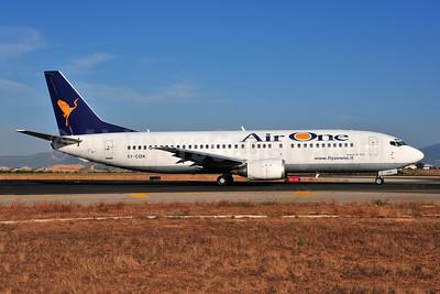Air One Boeing 737-430 EI-COK (msn 27003) PMI (Ton Jochems). Image: 954046.
