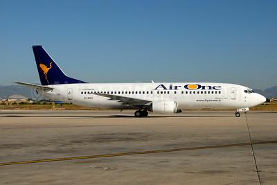 Air One Boeing 737-4Q8 EI-DXG (msn 25376) PMI (Ton Jochems). Image: 954047.