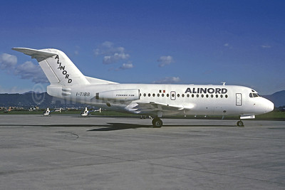 Alinord Fokker F.28 Mk. 1000 I-TIBB (msn 11010) BGY (Christian Volpati Collection). Image: 946126.