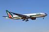 Alitalia (3rd) (Societa Aerea Italiana) Boeing 777-243 ER EI-DBL (msn 32781) MIA (Brian McDonough). Image: 925809.
