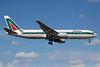 Alitalia (1st) (Linee Aeree Italiane) Boeing 767-33A ER I-DEID (msn 27468) MIA (Bruce Drum). Image: 100499.