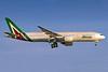 Alitalia (3rd) (Societa Aerea Italiana) Boeing 777-243 ER I-DISU (msn 32858) GRU (Rodrigo Cozzato). Image: 938453.