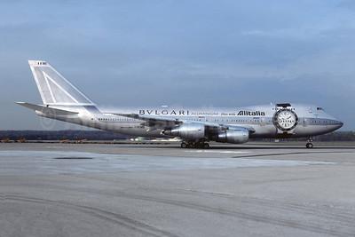 "Alitalia's 1998 ""Bvlgari"" watch livery"