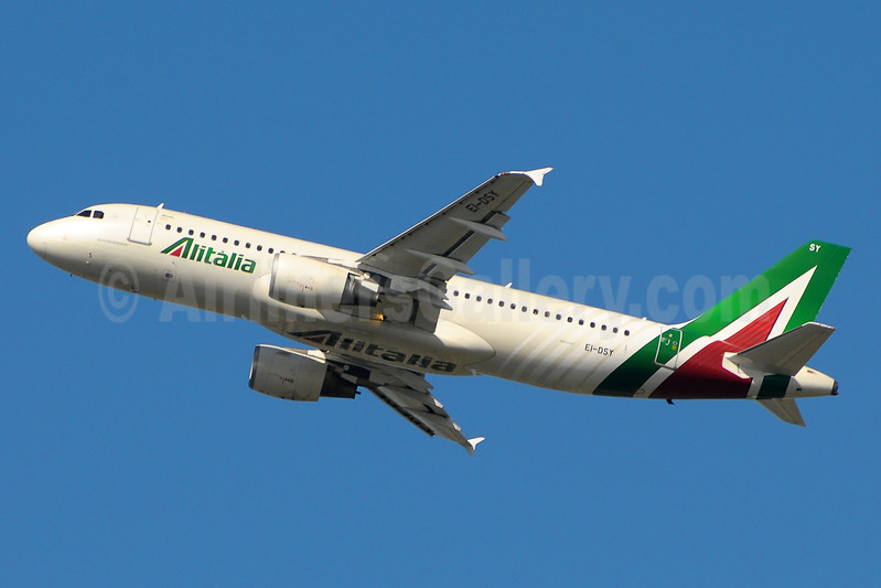 Alitalia (3rd) (Societa Aerea Italiana) Airbus A320-216 EI-DSY (msn 3666) FCO (Marco Finelli). Image: 937164.