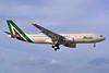 Alitalia (3rd) (Societa Aerea Italiana) Airbus A330-202 EI-EJK (msn 1252) MIA (Tony Storck). Image: 930977.