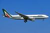 Alitalia (3rd) (Societa Aerea Italiana) Airbus A330-202 EI-EJH (msn 1135) FCO (Jacques Guillem). Image: 935815.