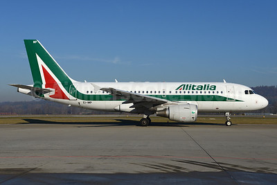 Alitalia (3rd) (Societa Aerea Italiana) Airbus A319-111 EI-IMP (msn 4859) ZRH (Rolf Wallner). Image: 936035.