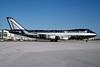 "Alitalia's ""Baci da Alitalia"" Boeing 747 logo jet"
