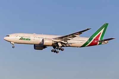 Alitalia (3rd) (Societa Aerea Italiana) Boeing 777-243 ER EI-DBM (msn 32782) FCO (Stefan Sjogren). Image: 938656.