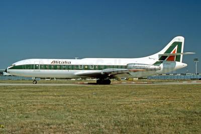 Alitalia (1st) (Linee Aeree Italiane) Sud Aviation SE.210 Caravelle 6N I-DABA (msn 71) (Jacques Guillem Collection). Image: 935008.