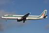 Alitalia (1st) (Linee Aeree Italiane) Airbus A321-112 I-BIXD (msn 532) LHR (Antony J. Best). Image: 902005.