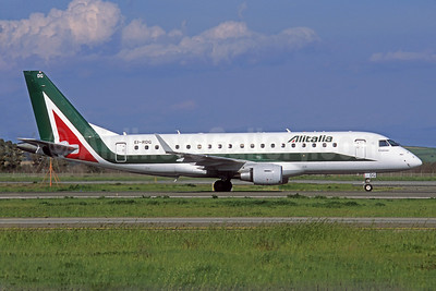 Alitalia CityLiner Embraer ERJ 170-200STD (ERJ 175) EI-RDG (msn 17000338) BLQ (Jacques Guillem Collection). Image: 925887.