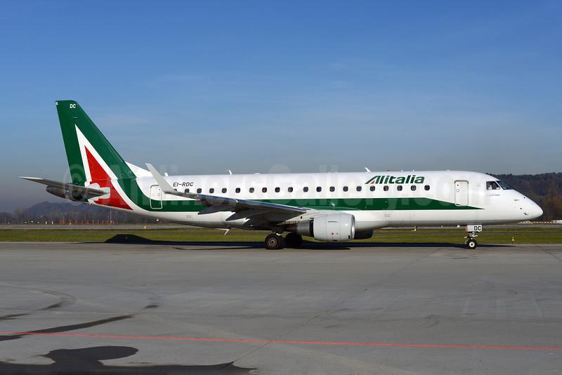 Alitalia CityLiner Embraer ERJ 170-200STD (ERJ 175)  EI-RDC (msn 17000333) ZRH (Rolf Wallner). Image: 921629.