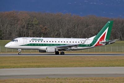 Alitalia CityLiner Embraer ERJ 170-200STD (ERJ 175)  EI-RDG (msn 17000338) GVA (Paul Denton). Image: 942235.