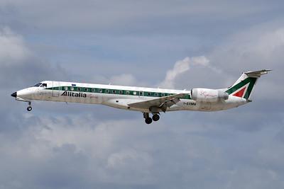 Alitalia Express Embraer ERJ 145LR I-EXMA (msn 145250) ZRH (Paul Denton). Image: 923155.