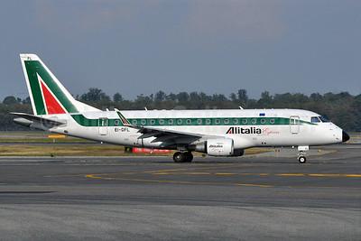 Alitalia Express Embraer ERJ 170-100LR EI-DFL (msn 17000036) MXP (Richard Vandervord). Image: 903668.
