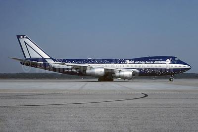 """1997 """"Baci da Alitalia"""" special livery"""