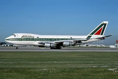 Alitalia (1st) (Linee Aeree Italiane) Boeing 747-243B I-DEMS (msn 22969) MIA (Rob Rindt Collection). Image: 947871.
