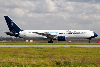Blue Panorama Airlines Boeing 767-35H ER EI-DBP (msn 26389) FCO (Marco Finelli). Image: 937179.