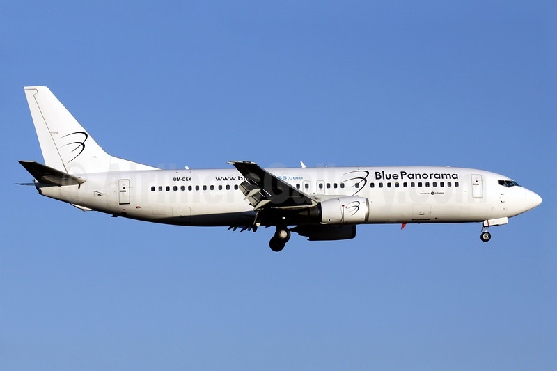 Blue Panorama Airlines (AirExplore) Boeing 737-46J OM-DEX (msn 28867) PMI (Javier Rodriguez). Image: 929028.