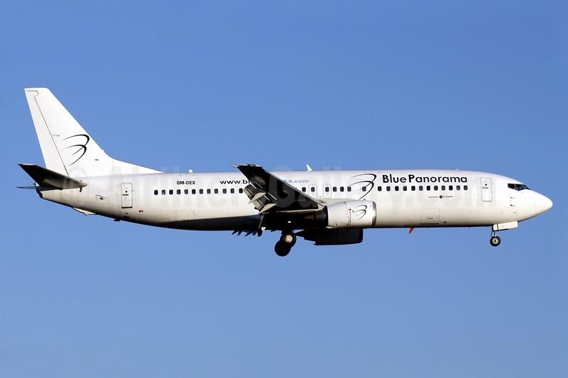 Blue Panorama Airlines (AirExplore) Boeing 737-46J OM-DEX (msn 28867) PMI (Javier Rodriguez). Image: 929028.
