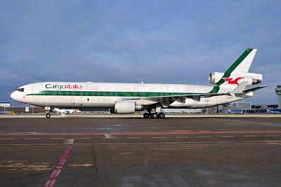 Cargoitalia McDonnell Douglas MD-11F EI-UPI (msn 48428) AMS (Ton Jochems). Image: 954212.