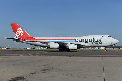 Cargolux Italia Boeing 747-4R7F LX-TCV (msn 30401) AMS (Ton Jochems). Image: 937439.