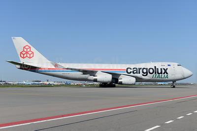 Cargolux Italia Boeing 747-4R7F LX-RCV (msn 30400) AMS (Ton Jochems). Image: 927245.