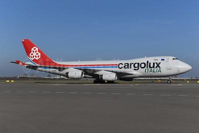 Cargolux Italia Boeing 747-4R7F LX-SCV (msn 29733) AMS (Ton Jochems). Image: 945759.