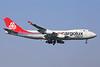 Cargolux Italia Boeing 747-4R7F LX-RCV (msn 30400) STN (Keith Burton). Image: 934911.