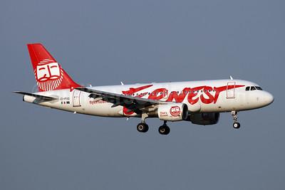 Ernest Airlines Airbus A319-111 EI-FVG (msn 1362) ZRH (Andi Hiltl). Image: 942639.